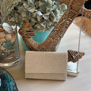 rhinestone clutch/crossbody purse